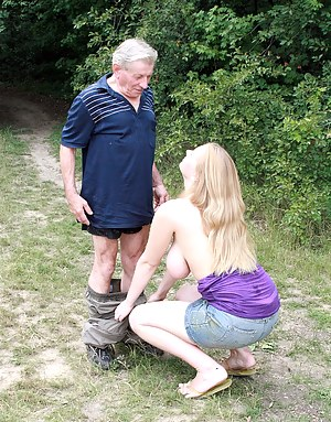 Old Man and Young Big Boobs Porn Pictures